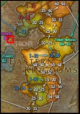 how to get to tol barad legion